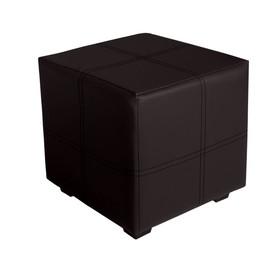 Пуф квадратный Марио 400х400х380 Черный Ош