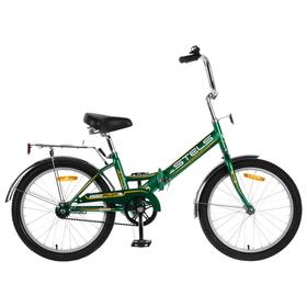 Велосипед 20' Stels Pilot-310, Z011, цвет зелёный/жёлтый, размер 13' Ош