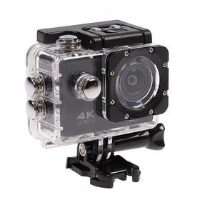 Экшн-камера Luazon RS-05, 4К, Wi-fi, чехол для подводной съемки, 18 предметов, черная Ош