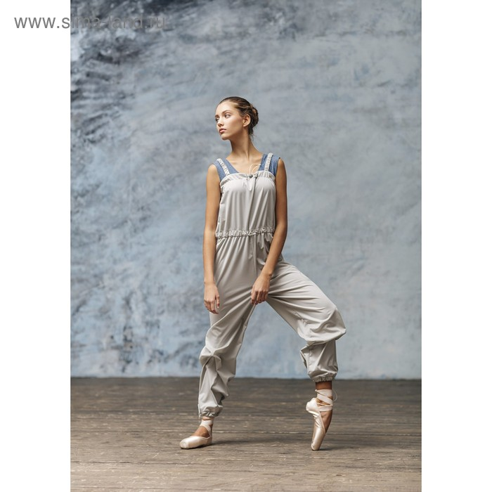 Комбинезон с эффектом сауны 0403PT, цвет серый, размер 44