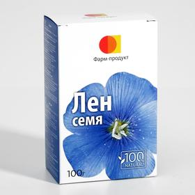 Фиточай травяной «Лён», 100 г