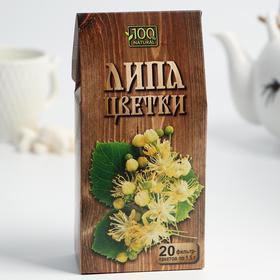 Чайный напиток «Алтай. Цветки липы» , 20 фильтр-пакетов по 1,5 г