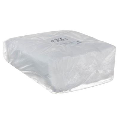Салфетки одноразовые впитывающие, р-р 20*20 см., спанлейс, 35 г./м2, 100 шт в упак - Фото 1
