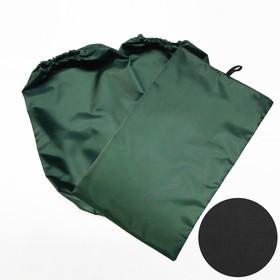 Нарукавники и коврик-мешок под колени, оксфорд 240, чёрный Ош