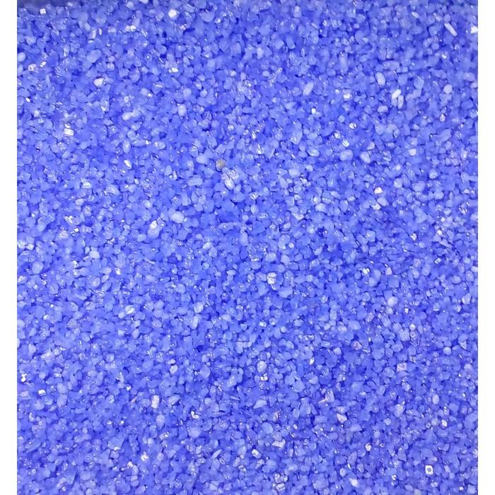 """Песок цветной, """"синий"""", 1 кг"""