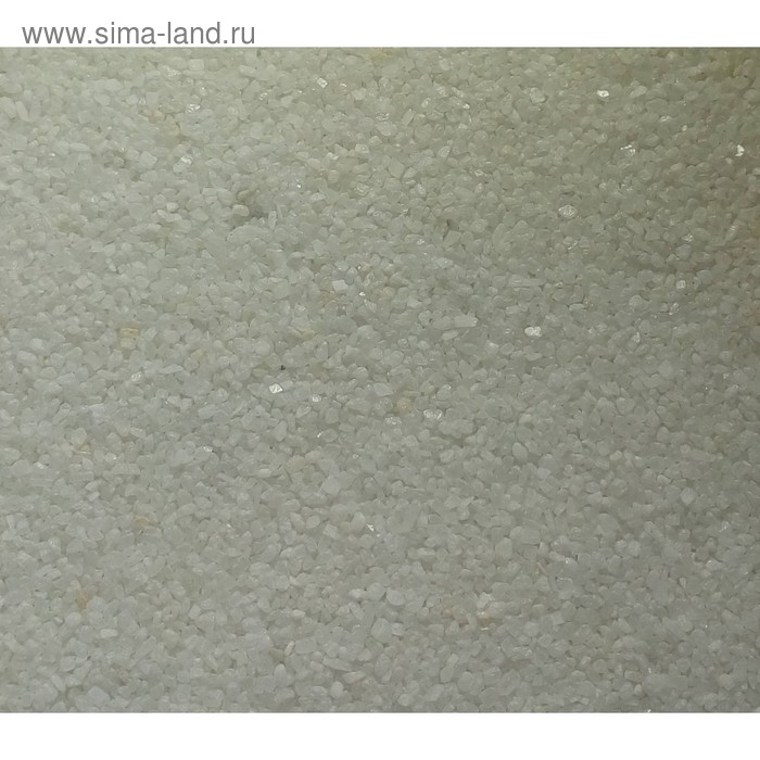 """Песок цветной, """"белый"""", 1 кг"""