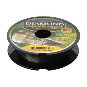 Леска монофильная Salmo Diamond EXELENCE 100 м, 0,17 мм