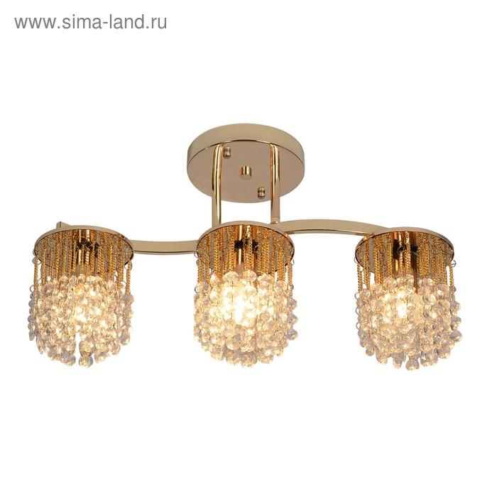 Люстра Annabelle 3x60Вт E14 золото