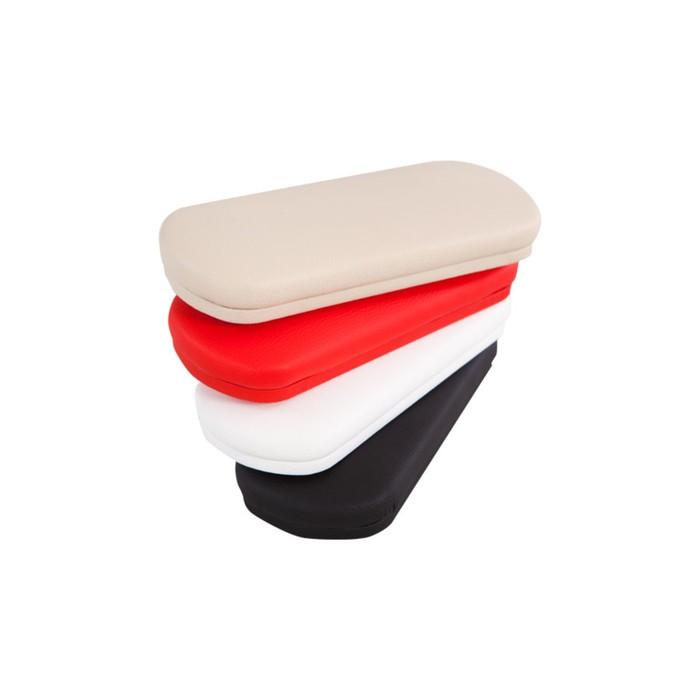 Подушка для маникюра Felina, широкая, цвет красный