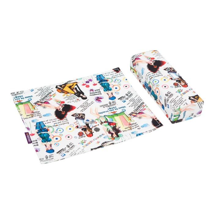 Подушка для маникюра Afina с ковриком и чехлом, цвет PALS Infinity 161 (Girl)