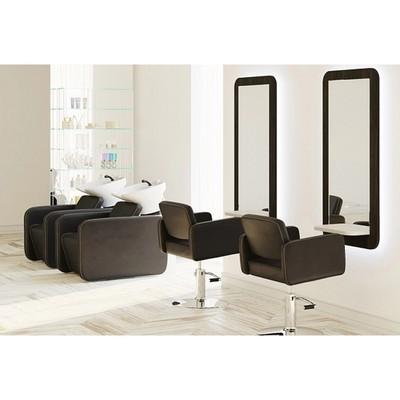 Парикмахерское кресло MANZANO (гидравлика), Perfetto, цвет чёрный