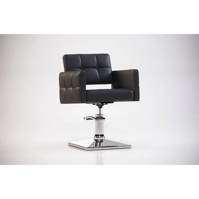 Парикмахерское кресло MANZANO (гидравлика), Quanto, цвет шоколадный