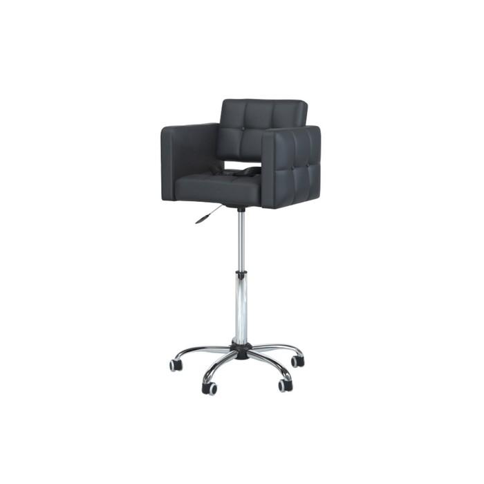 Детское парикмахерское кресло, Quanto mini, цвет чёрный