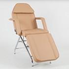 Косметологическое кресло SD-3560, механика, цвет светло-коричневый