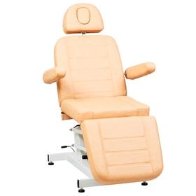 Косметологическое кресло SD-3705, 1 мотор, цвет светло-коричневый Ош