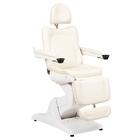 Косметологическое кресло SD-3870А, 3 мотора, цвет слоновая кость