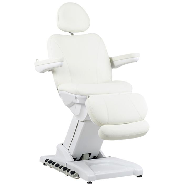 Косметологическое кресло SD-3872, 4 мотора, белый