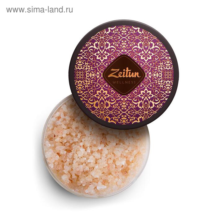 Ароматическая соль для ванн Zeitun «Ритуал соблазна», с жасмином и маслом макадамии, 250 г