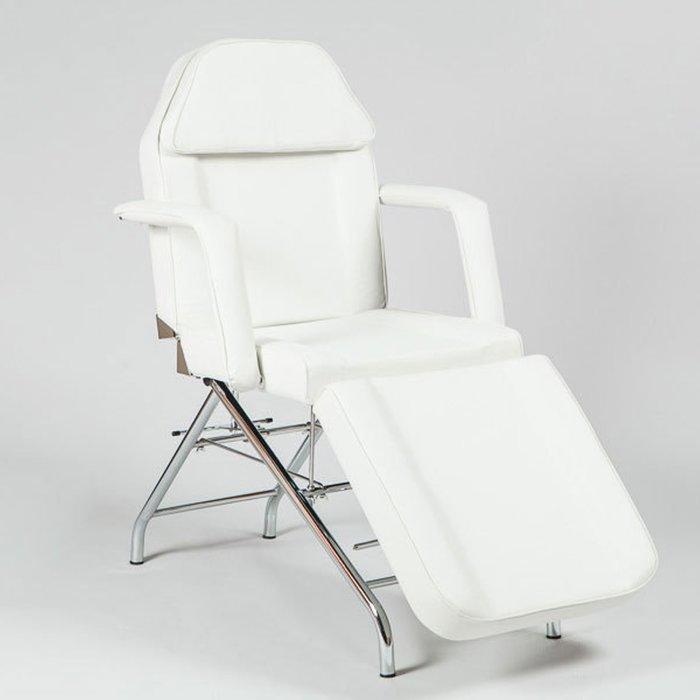 Косметологическое кресло SD-3560, механика, цвет белый