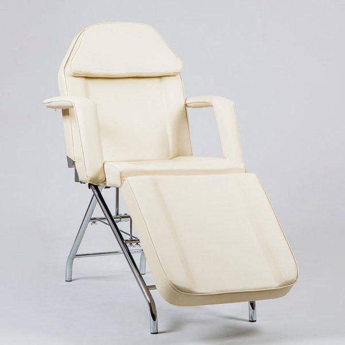 Косметологическое кресло SD-3560, механика, цвет слоновая кость
