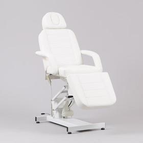 Косметологическое кресло SD-3705, 1 мотор, цвет белый Ош