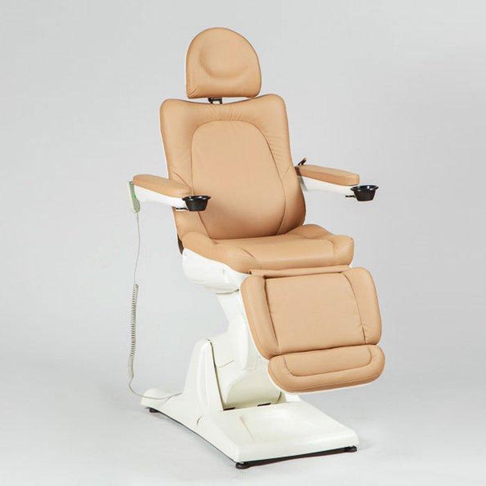 Косметологическое кресло SD-3870А, 3 мотора, цветсветло-коричневый