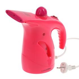 Отпариватель LuazON LO-12, ручной, 800 Вт, 200 мл, розовый Ош
