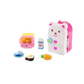 Игровой набор Милая Мелл «Холодильник с микроволновкой»