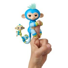 Интерактивная игрушка «Обезьянка Билли», с малышом, 12 см