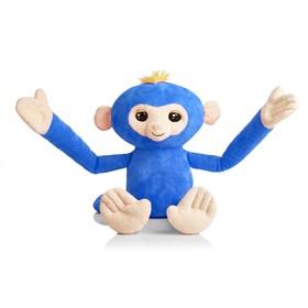 Игрушка «Обезьянка-обнимашка», голубая