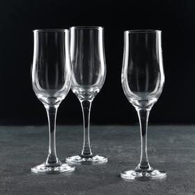 Набор бокалов для шампанского Tulipe, 190 мл, 3 шт