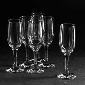 Набор фужеров для шампанского Bistro, 190 мл, 6 шт