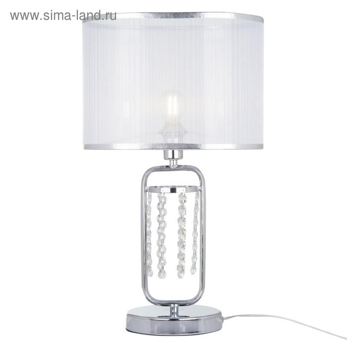 Настольная лампа Elin 1x40Вт E14 хром