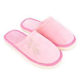 Тапочки женские, цвет розовый, размер 40/41