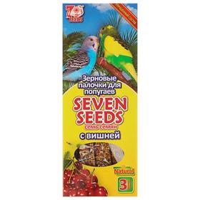 Палочки Seven Seeds для попугаев с вишней, 3 шт, 90 г