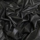 Флизелин, ширина 90 см, цвет чёрный, 35 г/кв.м