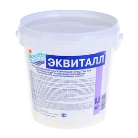 Коагулянт осветлитель воды 'Эквиталл', порошок, ведро,  0,8 кг Ош