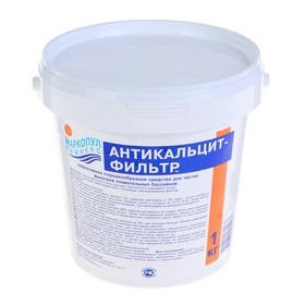Стабилизатор жесткости 'Антикальцит', фильтр,  1 кг Ош