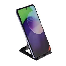 Подставка для телефона LuazON, складная, регулируемая высота, чёрная Ош
