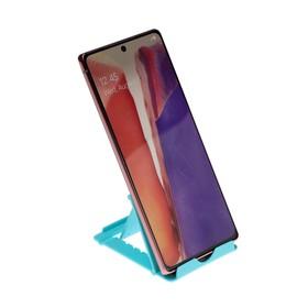 Подставка для телефона LuazON, складная, регулируемая высота, синяя Ош