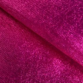 Бумага креп «Тёмно-розовый» металлизированный, 0,5 х 1 м Ош
