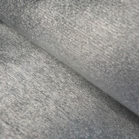 Бумага креп «Серый» металлизированный, 0,5 х 1 м Ош