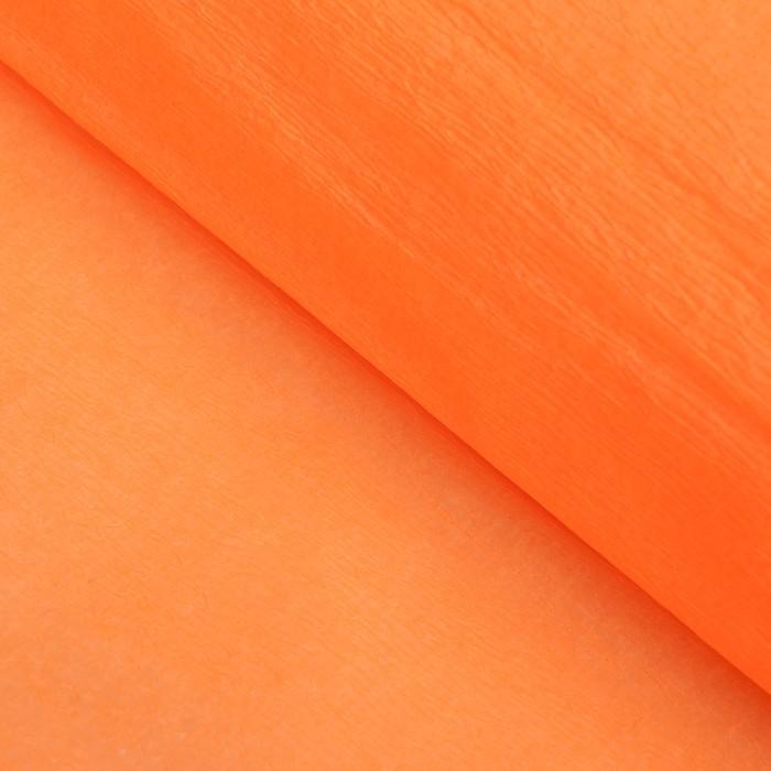 Бумага креп Светло-марковный неон, 0,5 х 2 м