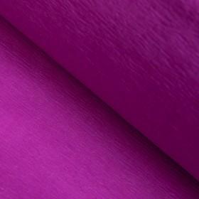 Бумага креп «Яркий пурпурный» неон, 0,5 х 2 м Ош