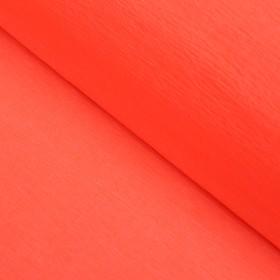 Бумага креп «Оранжевый» неон, 0,5 х 2 м Ош