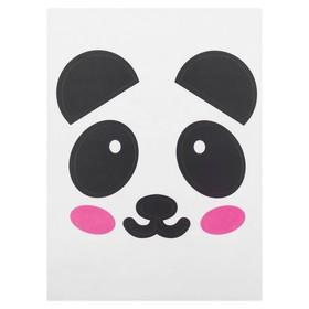 Наклейка на полимерные шары «Панда» Ош
