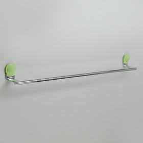 Держатель для полотенец одинарный Accoona A11806K, цвет зелёный