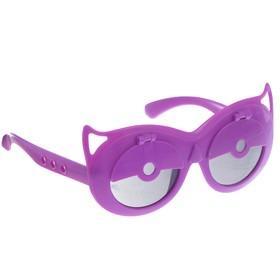 Очки детские «Совушка», фиолетовые Ош
