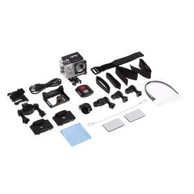 Экшн-камера Luazon RS-05, 4К, Wi-fi, чехол для подводной съемки, 18 предметов, серебристая Ош
