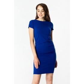 Платье женское, цвет голубой, размер 46 Ош